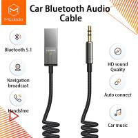 mcdodo kabel audio mobil car bluetooth 5.0 receiver jack 3.5mm ca8700