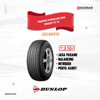 Ban Mobil Dunlop Grandtrek AT 25 265/60 R18 Voucher