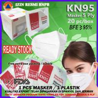 Masker KN95 5Ply Medis Disposable Mask KN 95 5 Ply Bedah Earloop KN-95
