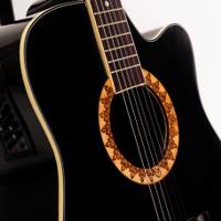 [Sedang Diskon] Gitar Akustik Mandalika BLACK JW-01 EQ7545