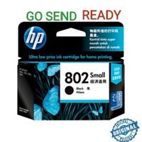 HP 802 ORIGINAL Black Hitam atau Color Warna Colour Tinta Printer