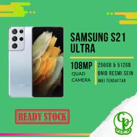 SAMSUNG GALAXY S21 ULTRA 512GB 256GB VIOLET SILVER BLACK RESMI SEIN