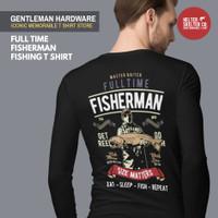 Kaos Baju Mancing Lengan Panjang Fisherman Club T-Shirt Pancing - S