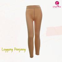 Chelyne Legging Panjang L-XL C1332K Bahan Spandex Kaos