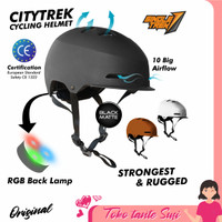 Helm Sepeda Topi Singletrek Cycling Bike Helm Sepeda lipat MTB Batok