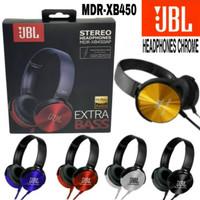 HEADSET HEADPHONE HANDSFREE MUSIC SUPER BASS JBL XB 450 XB450 MURAH