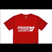 Kaos Baju Combed 30S Distro PETA PRiDE OF JAKARTA polos custom persija