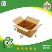 Box   Kotak   Dus   Kardus Polos Packing 20x15x10 (BARU)