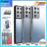Ringke Fusion Case Samsung Galaxy S21 Ultra S21 Plus Soft Casing Cover