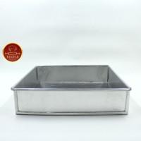 Loyang Kue Lapis Tebal 0,6 mm ukuran 20x20