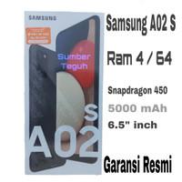 Samsung Galaxy A02S 4/64 Garansi Resmi - Putih