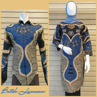 batik couple bahan katun primis/ sarimbit batik premium