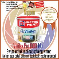 Cat Tembok Vinilex Pro 1000 Pail / Nippon Paint Cat Interior 20 Kg