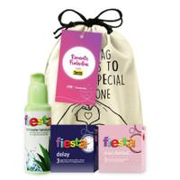 Joy Kit Berdua Pasangan - Paket Hemat Kondom Fiesta