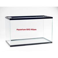 Aquarium Kaca Bahari 60G 60 G Kotak Tank Ikan Aquascape Akuarium Nisso