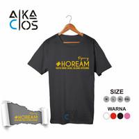 Kaos Distro T-shirt Unisex Pejuang Hoream