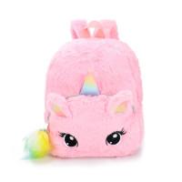Tas Backpack Unicorn, tas punggung, ransel lucu anak - Merah Muda