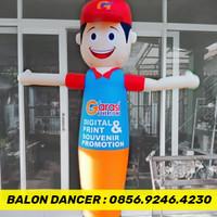 JUAL BALON SKY DANCER - BALON GOYANG PROMOSI - BALON + BLOWER 13 INCH