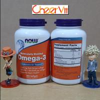 NOW Foods Omega-3 200 Softgels Fish Oil
