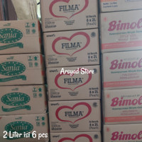 Minyak goreng 2 Liter Dus : sania, filma, sunco, bimoli, fortune, dll