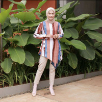 Baju Wanita Muslim Atasan Oriza Tunik Premium