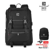 Bruno Cavalli NEW GEN Backpack USB 86018 - Tas Ransel 21L