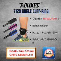 Aolikes 7129 Ankle strap D ring - Leg workout - strap wraps Gym fitnes - Kanan