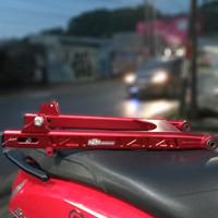 swing arm arem Kawahara k2r Yamaha Jupiter z Vega R merah