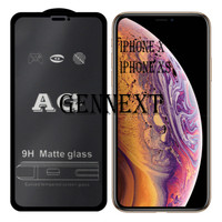 Tempered matte glass iphone x xs glass matte anti minyak
