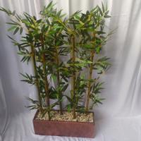 bambu partisi - bambu plastik- partisi bambu- partisi ruangan- hiasan