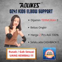 Aolikes 2 PCS Kids elbow support - joint wrap / Pelindung siku anak
