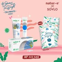 "Paket Natur-E WHITE X SOVLO -4 ""Women Empowerment"""