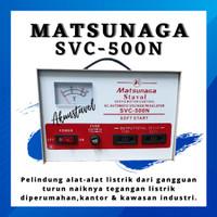 Stavolt Matsunaga SVC-500N - Stabilizer Listrik Matsunaga 500 watt