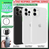 Case iPhone 12 Pro Max 12 Mini SwitchEasy 0.35mm Slim Hardcase Casing