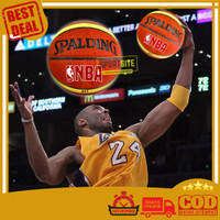 Bola Basket Rubber Spalding NBA Olahraga BasketBall Bahan Karet Tebal