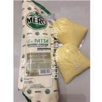 Mero Lepatta Bakery Cream Vanila cream Filling kue sus repack 250gr