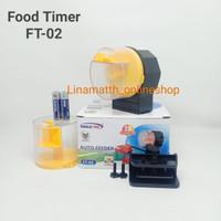 Auto Feeder Fish Sakkai Pro FT-02 Food Timer Pemberi Pakan Otomatis