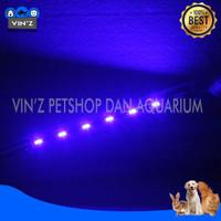Lampu Led KANDILA Celup Aquarium KD-20cm 1 Warna Tidak Bisa Ganti - Biru