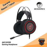Headset dbE GM100 GM 100 - Gaming Headphone - Original Garansi Resmi