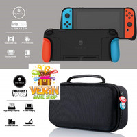 Nintendo Switch Skull & Co. MaxCarry & Grip Case - And Max Carry / Tas