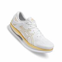 Sepatu Asics Metaride Mens Running Shoes White Carbon