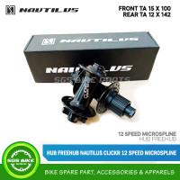 Hub Freehub Nautilus ClickR 12 Speed Microspline 15x100 F / 12x142R