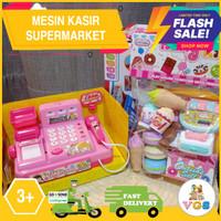 Mainan Anak Perempuan Mesin Kasir / Cash Register Supermarket