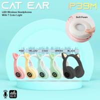 Headphone/Headset/Bando Bluetooth Cat Ear Lampu Led