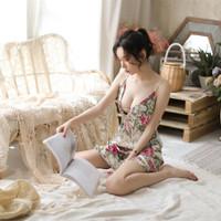 lingeries sexy-lingerie floral-baju tidur wanita up Ld 95cm