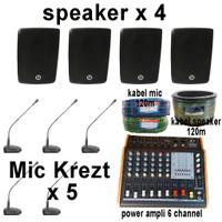 Jasa Pasang Paket Sound System Speaker Audio Puskesmas
