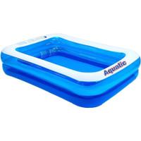Kolam Renang Anak Bestway Blue Rectangular Family Pool 262 cm #54006