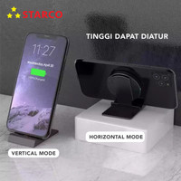 Starco 3 in 1 Wireless Charger Stand Holder Pad Dock Fast Charging