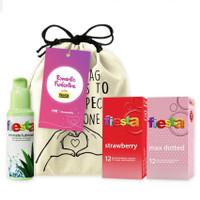 Joy kit Last but Not Least - Paket Lengkap Kondom Fiesta
