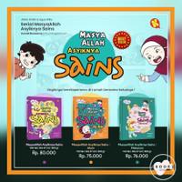 KOMIK MASYA ALLAH ASIKNYA SAINS | 3 Buku Anak Islami Ilmu Pengetahuan